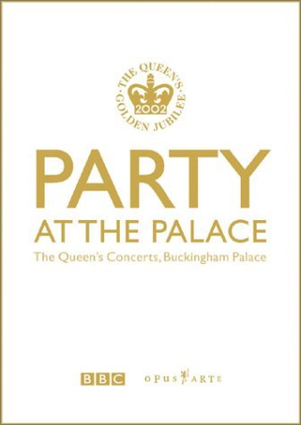 Party At The Palace DVD cover