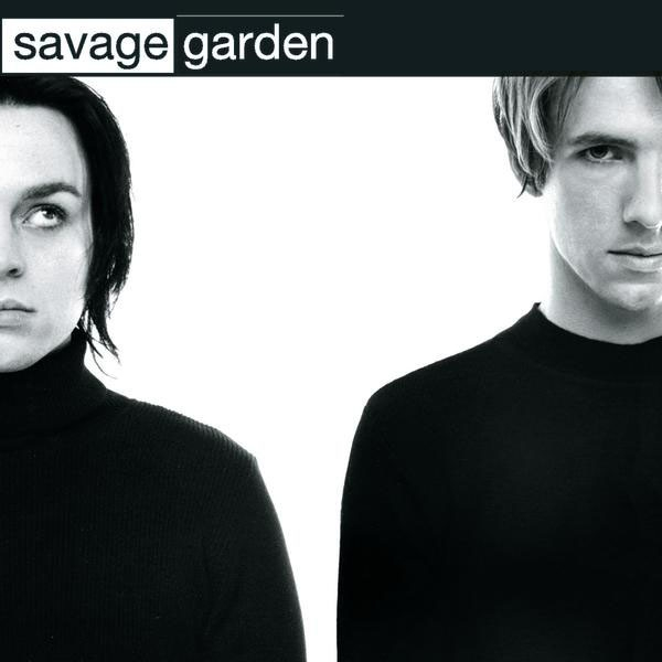 Cover image, Savage Garden's self-titled album
