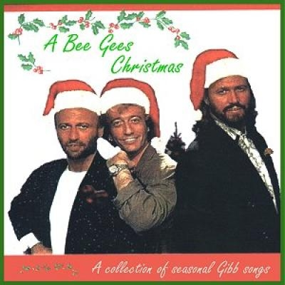 A Bee Gees Christmas album cover